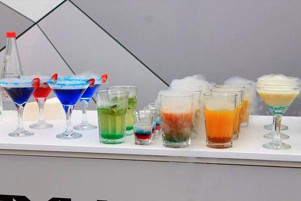 молекулярный бар на детский или взрослый праздник день рождения