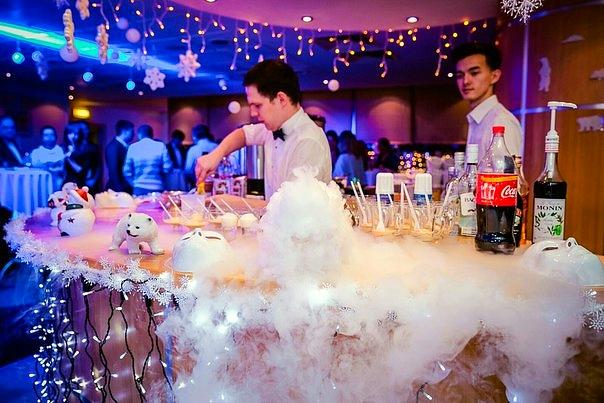 молекулярный бар на детский и взрослый праздник в Москве