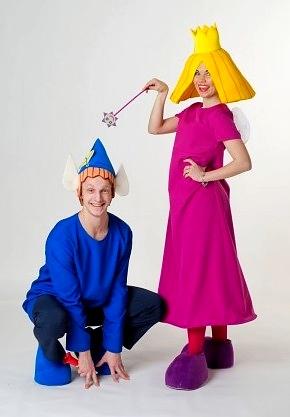 Аниматоры Фея Холли и Эльф Бен на детский праздник и день рождения ребенка Москва