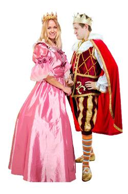 аниматоры принц и принцесса на детский праздник день рождения ребенка
