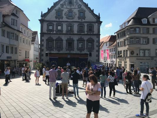 Konzerte auf dem Marienplatz in Ravensburg