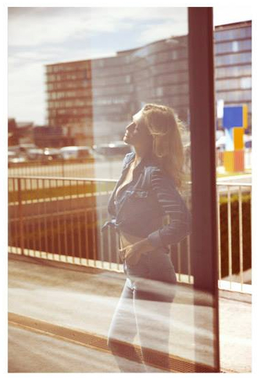 """retro amour"" - woman magazine - photographer: julia spicker - styling: barbara zach - makeup & hair: anie lamm-siu - model: nadine wolfbeisser"