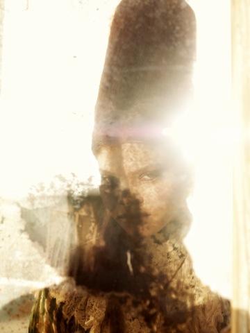 """sandpeople"" - photographer: andreas waldschuetz - creative director/styling: adia trischler - makeup: anie lamm-siu - model: carmen solomons"