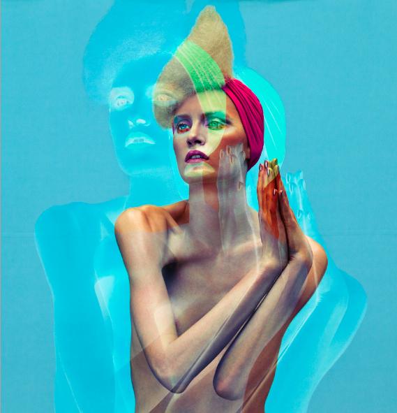 """""""revival"""" - FAQ magazine - photographer: andreas waldschuetz - concept/idea: anie lamm-siu - makeup/hair/nails: anie lamm-siu - model: jana wieland"""