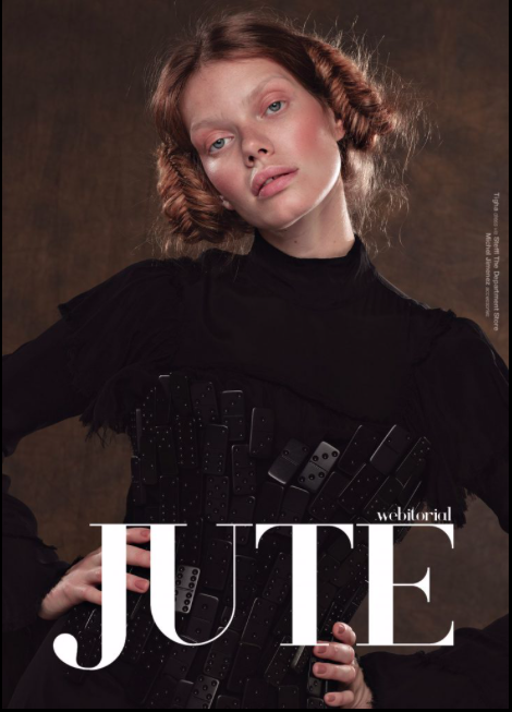 """jeu d'artisan"" for jute magazine - photographer: violetta koenig - concept: violetta & anie - styling: nasti - makeup & hair: anie lamm-siu - model: nika rusakova @stellamodels"