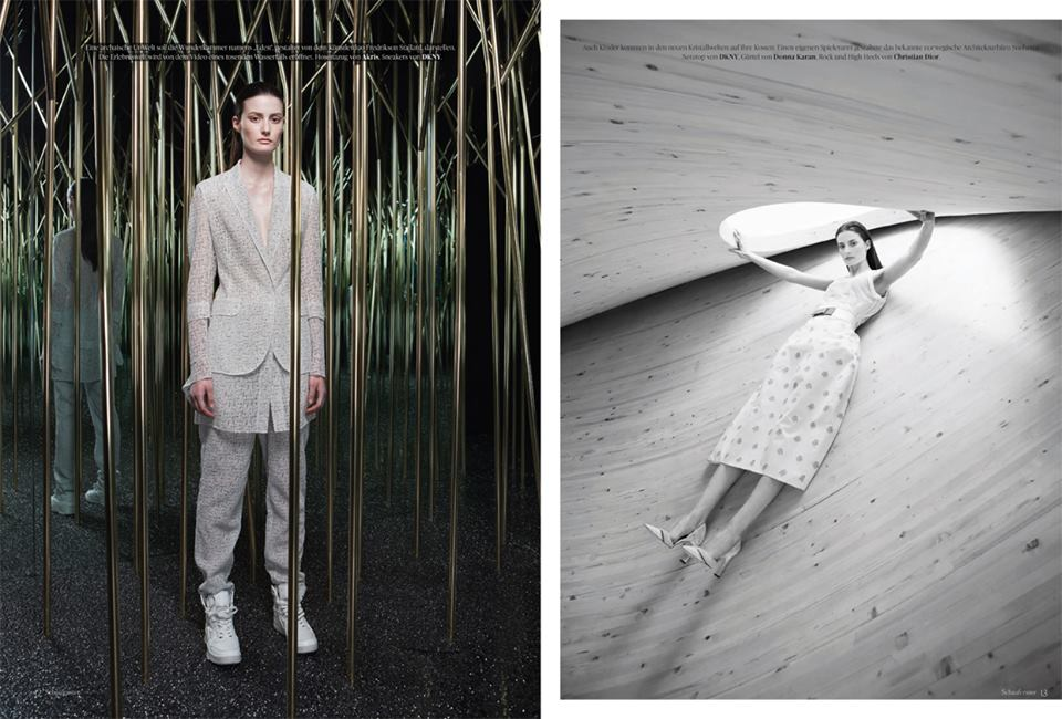 """staunraum"" for presse schaufenster - photography: mark glassner - production & styling: barbara zach - makeup & hair: anie lamm-siu"