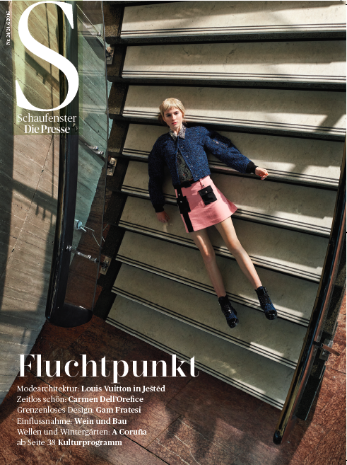 """raumfahrt"" for presse schaufenster - photography: mark glassner - production & styling: barbara zach - makeup & haare: anie lamm-siu"