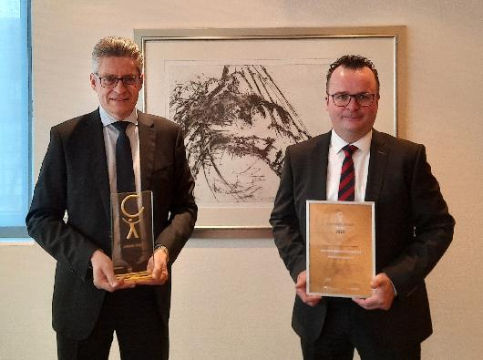 Die Volksbank Beckum-Lippstadt erneut mit Deutschlands wichtigstem BGM-Award ausgezeichnet