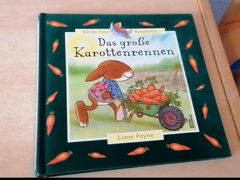 """Home-Kita: Vorlesen für alle """"Das große Karottenrennen"""""""