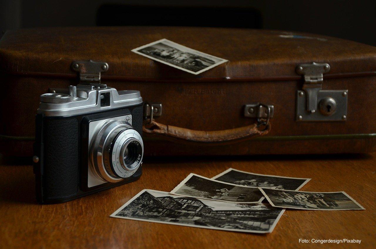 Abholung Fotos im Fotoatelier Nitsche