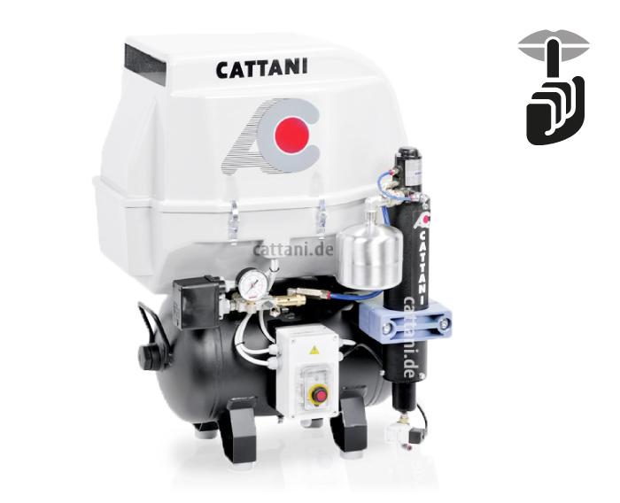 1-Zylinder-Kompressor mit Schallschutzhaube