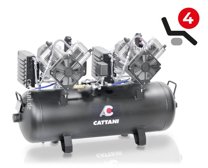 Cattani - 2-Zylinder-Tandem-Kompressor