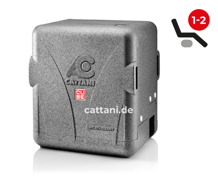 Cattani - Dental-Absauganlagen - Micro Smart Cube - geschlossen