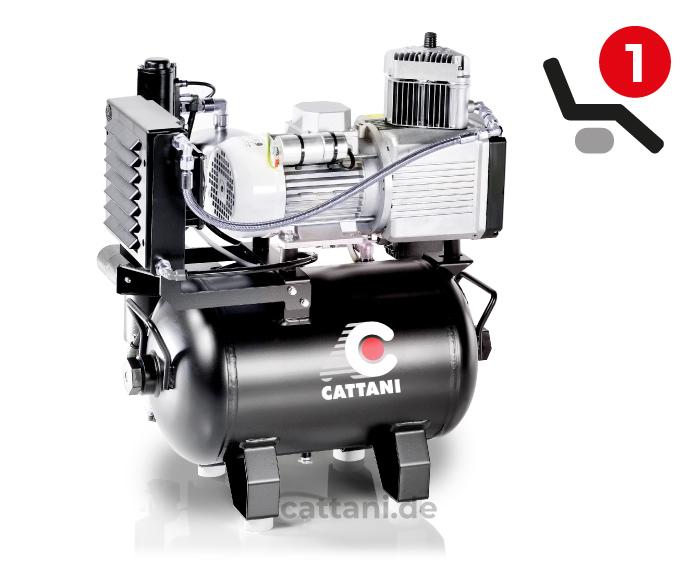 1-Zylinder-Kompressor