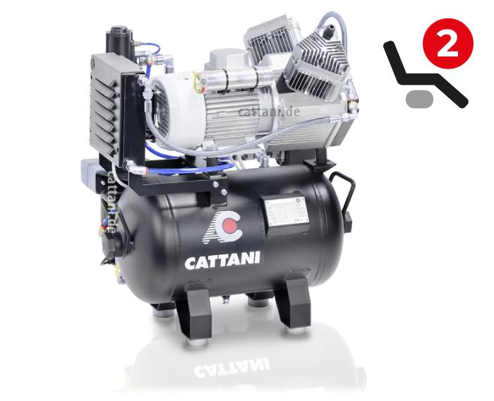 Cattani - 2-Zylinder-Kompressor