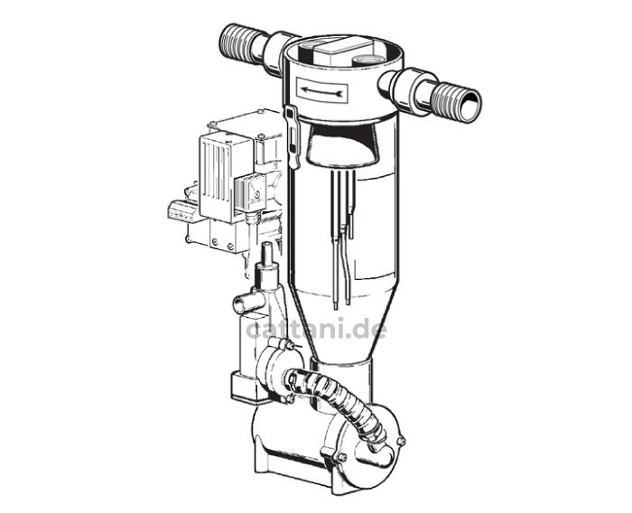 Cattani - Abscheider - Separierautomaten - Miniseparator - 90