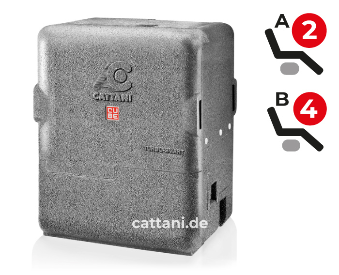 Cattani - Dental-Absauganlagen - Turbo-Smart Cube - geschlossen