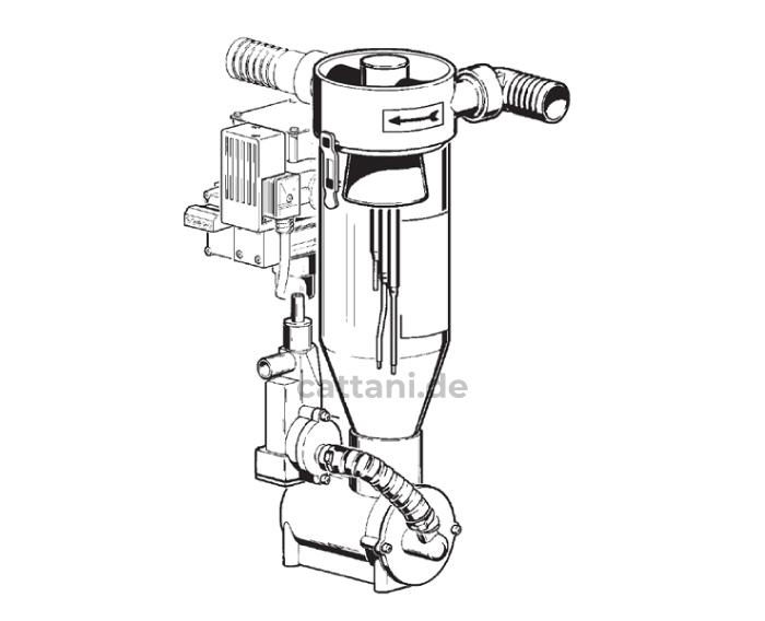 Cattani - Abscheider - Separierautomaten - Miniseparator - 180