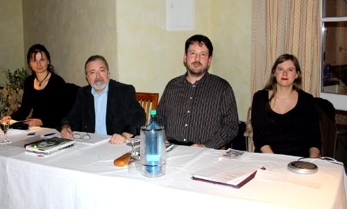 v.l.: Jana Heidler, Frank Irmscher, Carsten Krankemann, Anne Bergmann