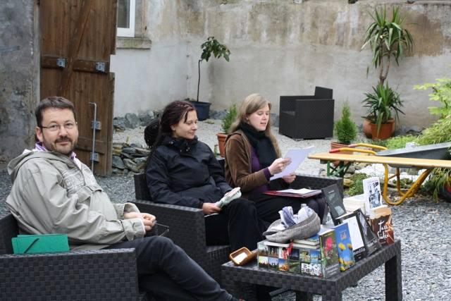 v.l.: Carsten Krankemann, Jana Heidler, Anne Bergmann