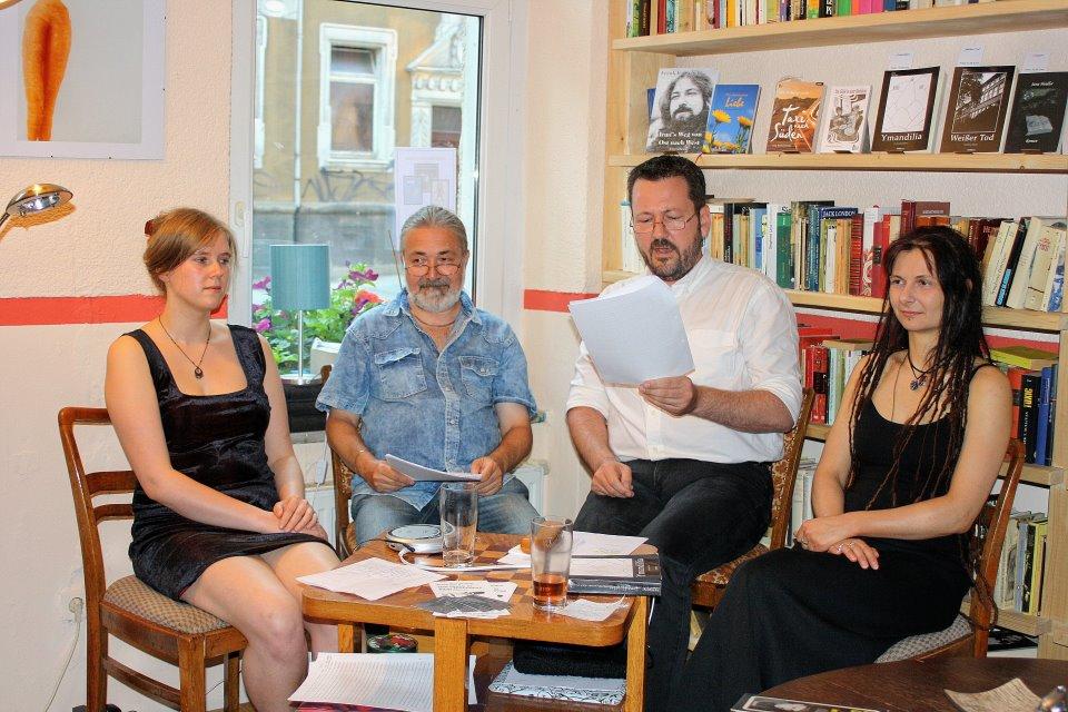 v.l.: Anne Bergmann, Frank Irmscher, Carsten Krankemann, Jana Heidler
