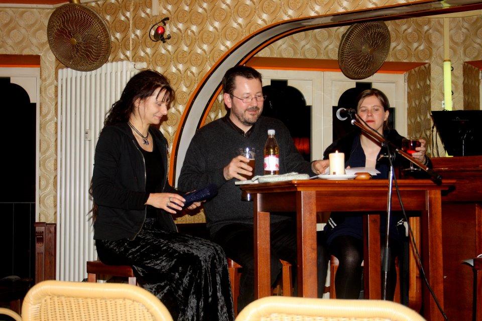 v.l.: Jana Heidler, Carsten Krankemann, Anne Bergmann