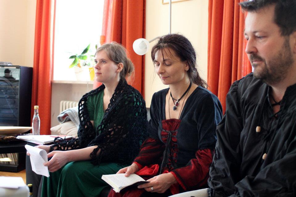 v.l.: Anne Bergmann, Jana Heidler, Carsten Krankemann