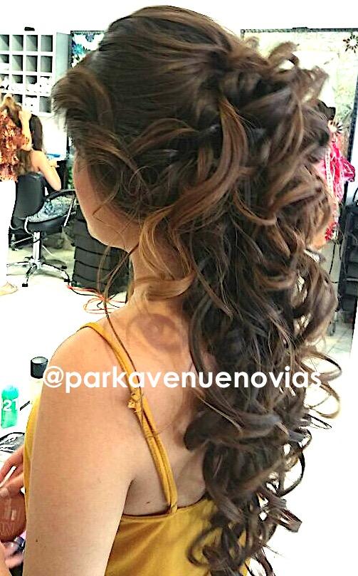 peinado cascada by park avenue novias cuernavaca