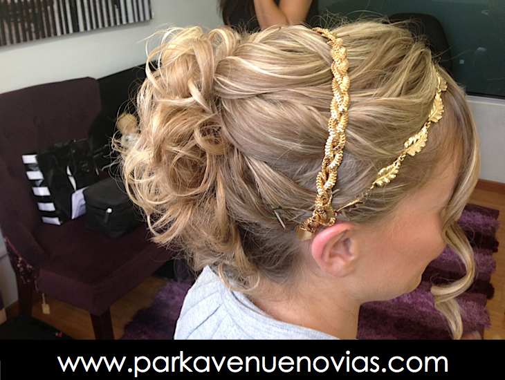 Peinado para novia by Park Avenue Salon