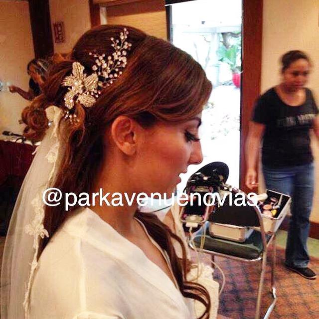 peinado cola alta  by park avenue novias cuernavaca