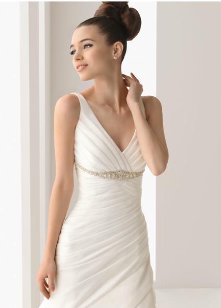 Un vestido tradicional queda con todo
