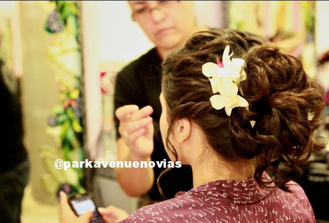 Peinado para novia by Park Avenue Salon
