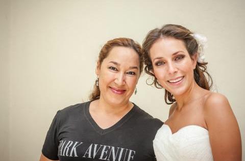 peinado novia  y maquillaje by park avenue salón