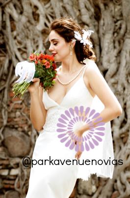Vestido para novia de día
