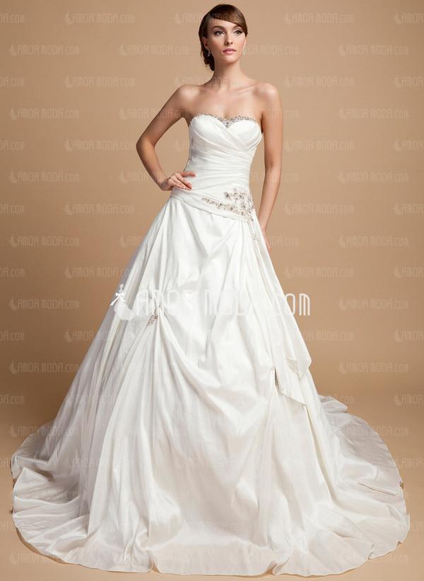 vestido de novia corte A