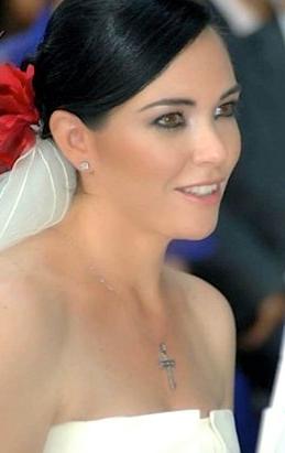 Peinado de novia chongo tipo español