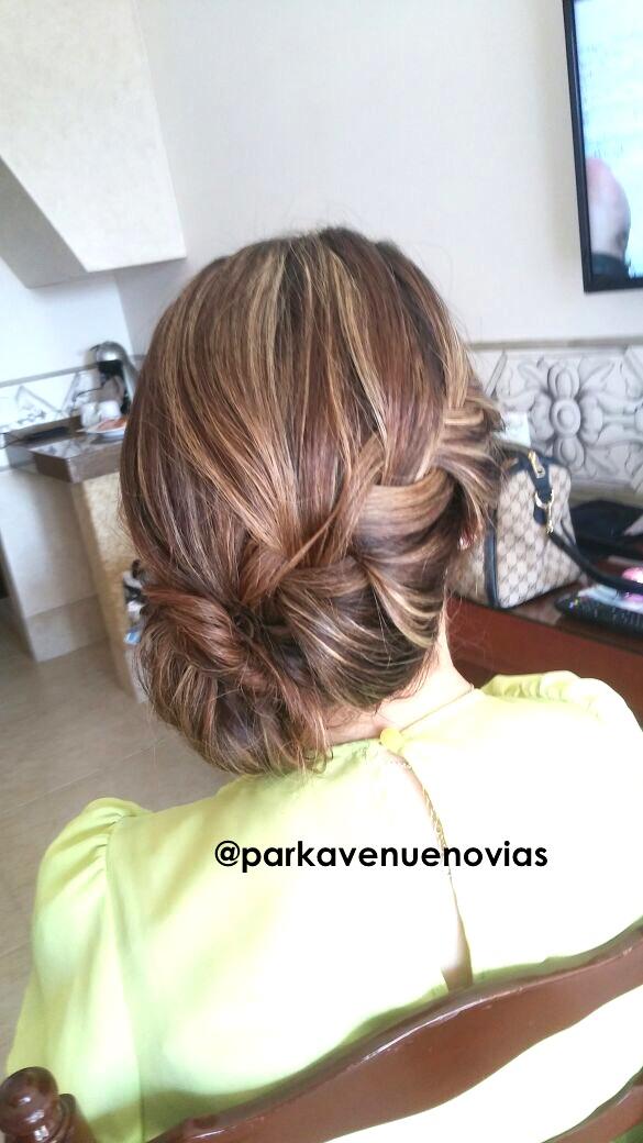 peinado trenza by park avenue novias