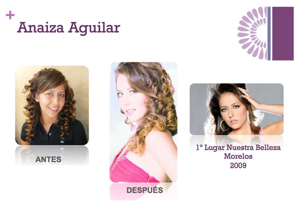 Antes y Después Maquillaje Y Peinado
