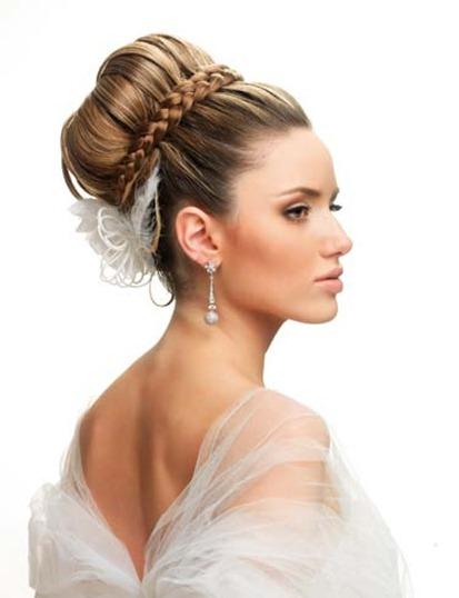 Peinado alto para tu boda en Cuernavaca de noche