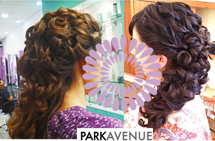 peinados estilo cascada  by park avenue novias cuernavaca