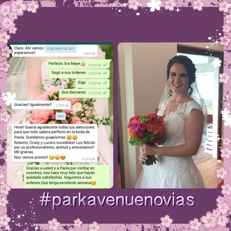 Sra. muchas gracias a usted y a Paola, nuestros mejores deseos para esta nueva etapa.