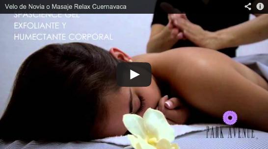 Masaje relax para novias