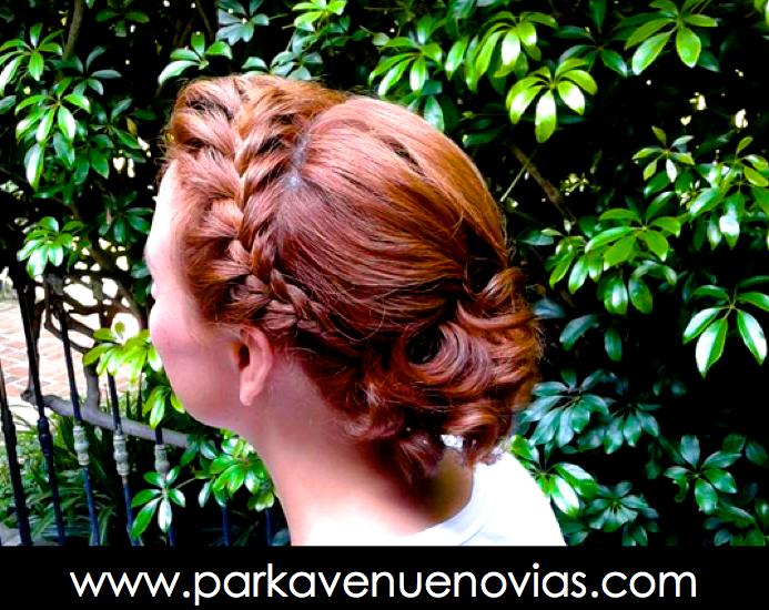 peinado trenza by park avenue novias cuernavaca