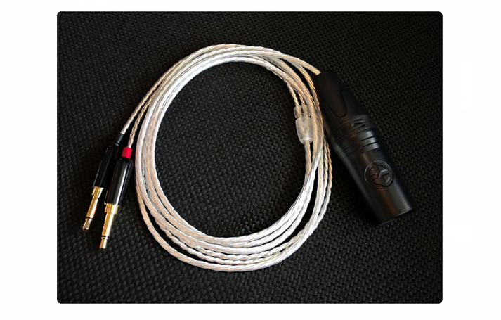 kopfhörerkabel symmetrisch headphone cable symmetric xlr 4 pin
