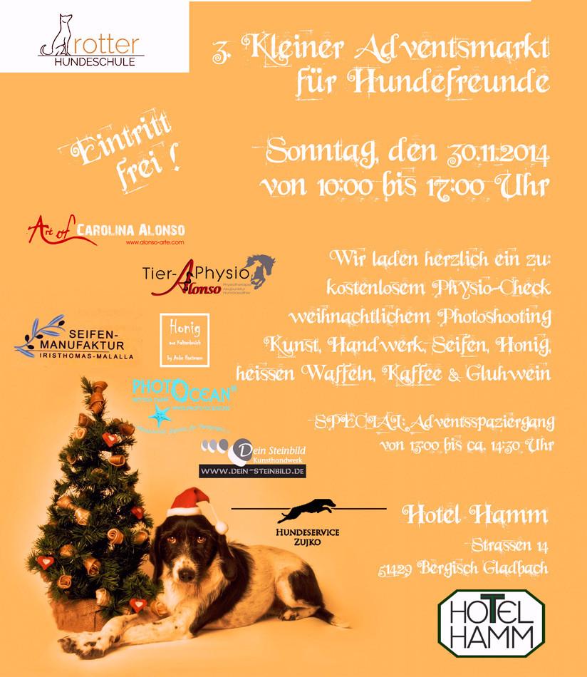 3. Adventsmarkt für Hundefreunde