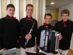 Konzert beim VSV Aargau in Dottikon, Juli 2012
