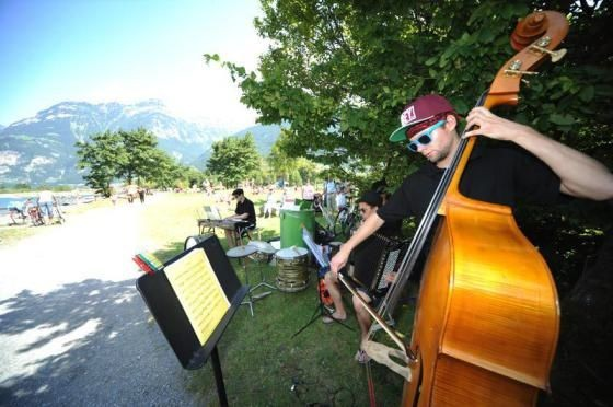 Klangspaziergang des Alpentöne Festivals, August 2013