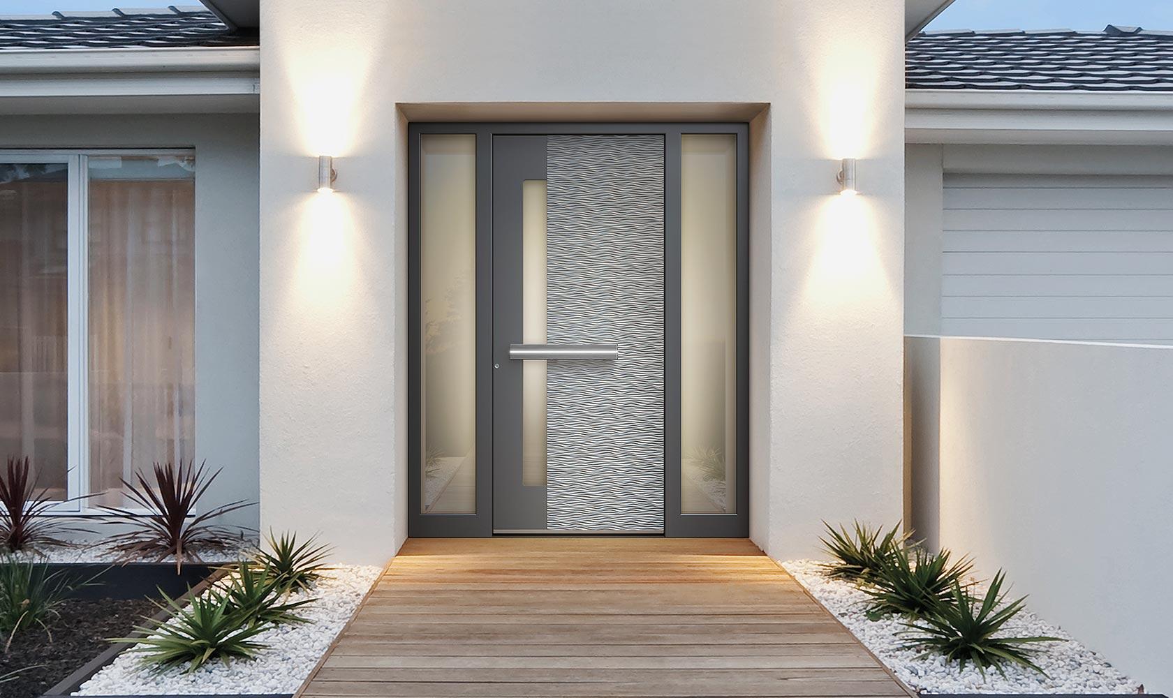 Pirnar Haustüren mit Design Oberfläche