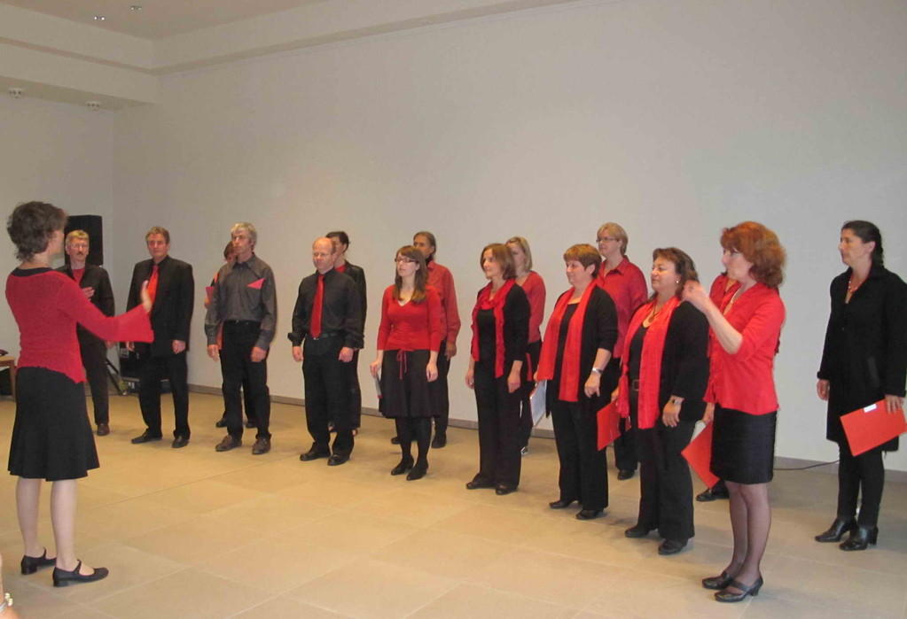 Chor Mundwerk Hausham, Ltg Martina Kneißl