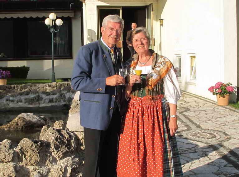 "Das ""Jubelpaar"" Karl und Evi Kögl"